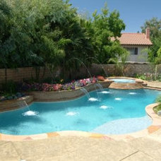 Mediterranean Pool by California Pools