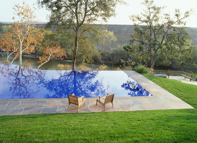 modern pool by Dufner Heighes Inc
