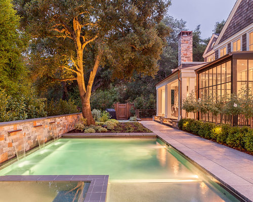 Top 30 Traditional Pool Ideas & Photos | Houzz