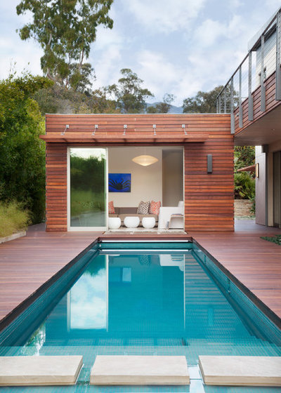 Contemporary Pool by Maienza - Wilson Architecture + Interiors