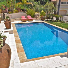 Mediterranean Pool by Campbell Construction Inc.