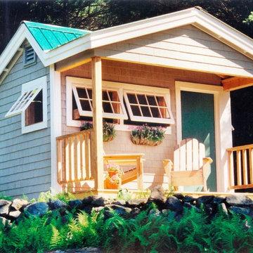 Camp, Cottage & Cabin Kits ~ Potting Fort 12' x 12'