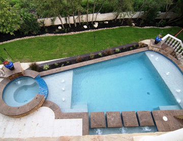 Cantera Stone Outdoor Pool