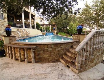 Cantera Stone Outdoor Pool