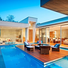 Contemporary Pool by Canny Design