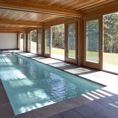 modern pool by Hammer Architects