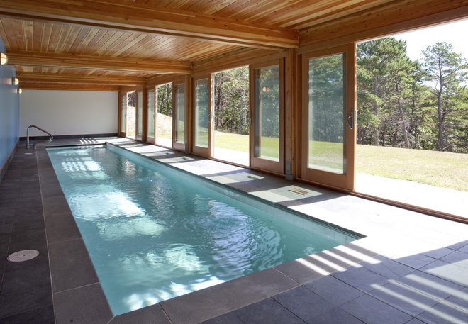 Midcentury Pool by Hammer Architects