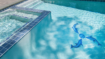 Cape Cod Pool Projects: Dolphins in Brewster