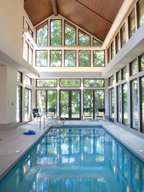 Indoor outdoor pool design home design ideas pictures for Domestic swimming pool design