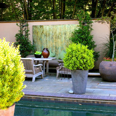 eclectic pool by CAROLE MEYER