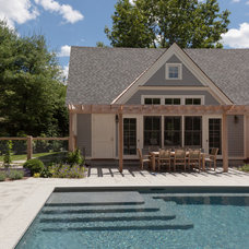 Contemporary Pool by Matthew Cunningham Landscape Design LLC