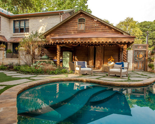 Rustic Pool House Ideas: Save Email