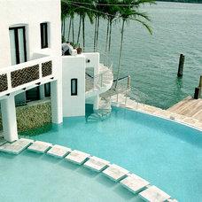 Tropical Pool by Marmiro Stones, Inc