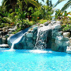 Tropical Pool by DeMaria Landtech Inc