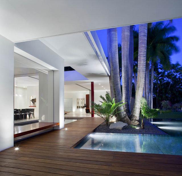 Modern Pool by Eva Hinds