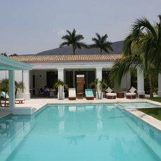 Mediterranean Pool Casa Ticuman