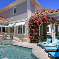 Mediterranean Pool by Grants Gardens