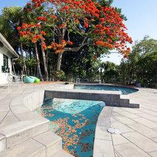 Tropical Pool by Michael A. Gilkey, Inc.