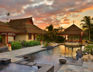 Casitas and Pool Pavilion