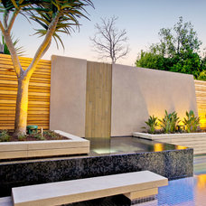 Contemporary Pool by Anston Paving Stones