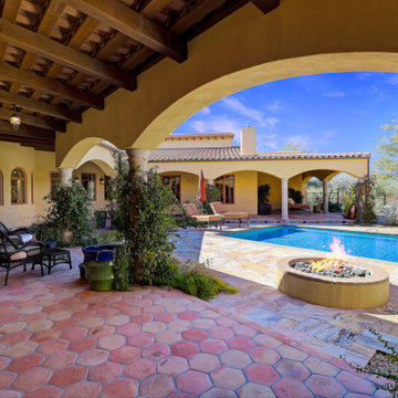 Cave Creek AZ Custom Home & Horse property nestled on 12.5 acres