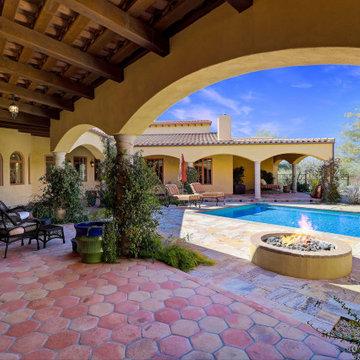 Cave Creek AZ Custom Home & Horse property nestled on 12.5 acres