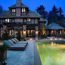 Traditional Pool by Graytek