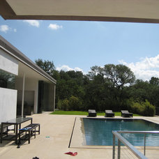 Modern Pool by Cottam Hargrave