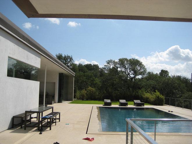Modern Pool by Cottam Hargrave