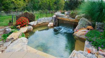 Charlotte Pergola and Swim Pond