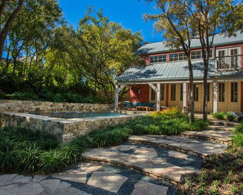 Fotos de piscinas dise os de piscinas elevadas de estilo for Piscina elevada rectangular
