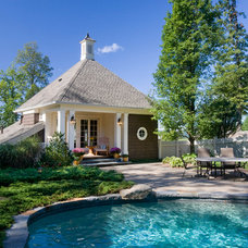 Traditional Pool by Kemper Associates Architects, LLC