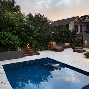 Transitional pool in Sydney.