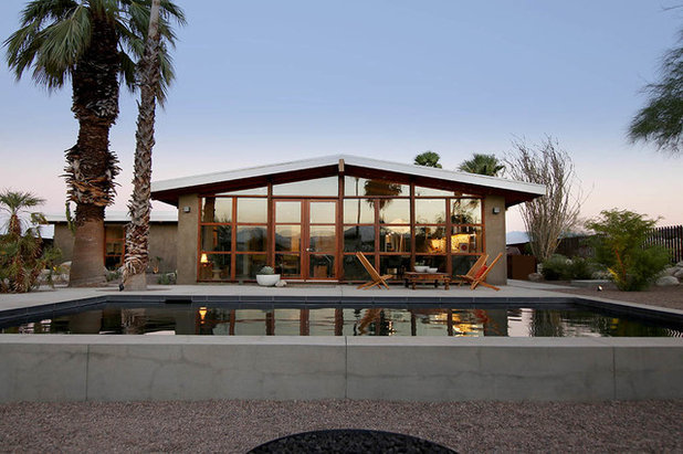 Houzz Tour: Neglected Midcentury Gem Transformed in Palm Springs