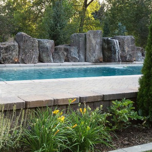 Example of a transitional pool design in Salt Lake City