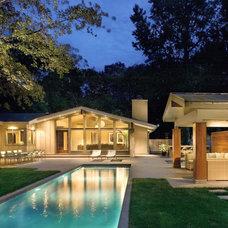 Contemporary Pool by DaCruz Segal Architecture llc