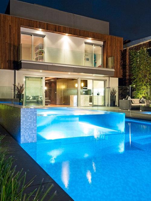 Glass Pool Houzz