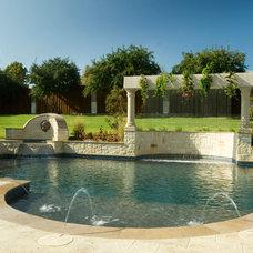 Traditional Pool by El Dorado Pools