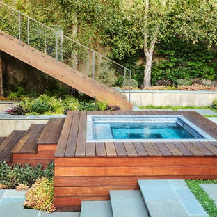 75 Beautiful Courtyard Aboveground Pool Pictures Ideas March 2021 Houzz