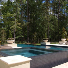 Eclectic Pool by Daly-Sublette Landscape Architects