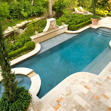Traditional Pool by Richard Drummond Davis Architects