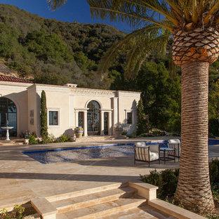 Tuscan pool photo in Santa Barbara