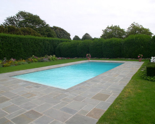 rectangular gunite pool photos