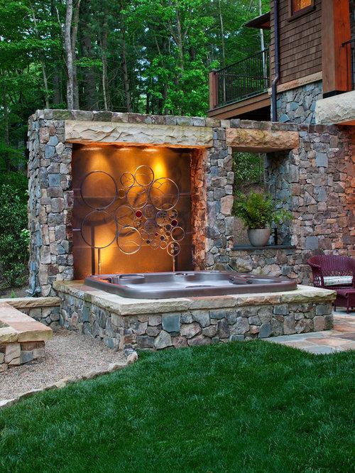 Hot Tub Surround   Houzz