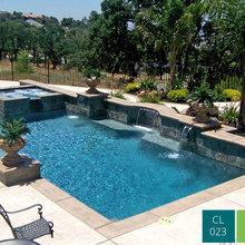 Classic Swimming Pool Designs - Mediterran - Pools - Austin ...