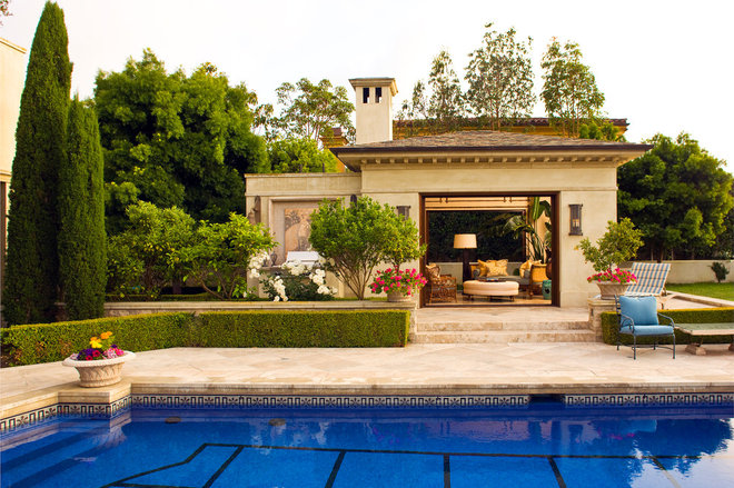 Traditional Pool by Harte Brownlee & Associates Interior Design