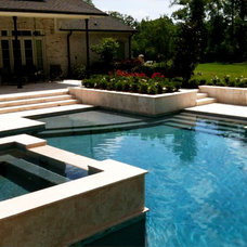 Contemporary Pool by Ferris Land Design - Richard Hymel, ASLA