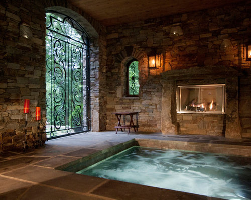 Best Indoor Stone Wall Design Ideas Amp Remodel Pictures Houzz