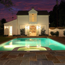 Traditional Pool by Morrow and Morrow Corporation