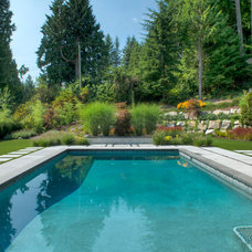 Contemporary Pool by Stone Event Imports